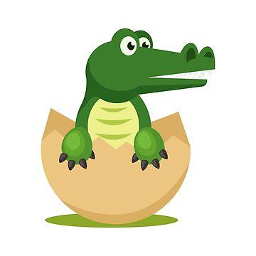 Baby crocodile by fourretout