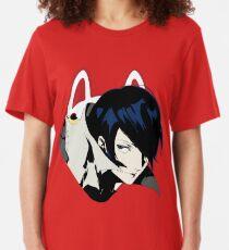 Yusuke Kitagawa/Fox - Persona 5 Slim Fit T-Shirt