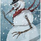 Creepy snowman von Regenassart