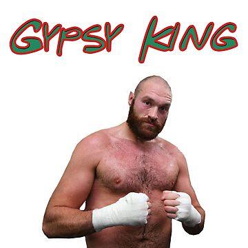 Tyson Fury - Gypsy King by BlueWallDesigns