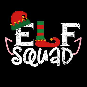 Team Elf Gift Family Suitable for Christmas Funny T-Shirt by MrTStyle