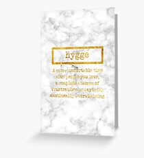 hygge Greeting Card