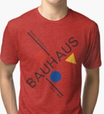 Bauhaus Movement Poster Artwork, 1919 Walter Gropius Reproduktion, Tshirt, T-Shirt, Jersey, Poster, Artwork Vintage T-Shirt