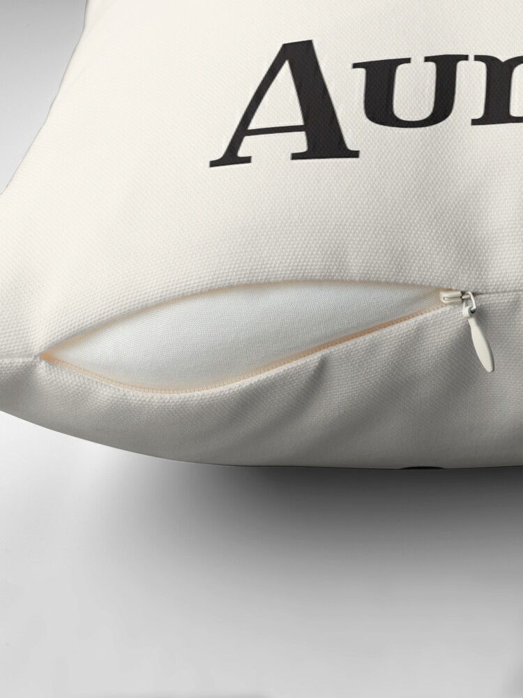 Alternate view of Reserved for Auntie Cushion Throw Pillow