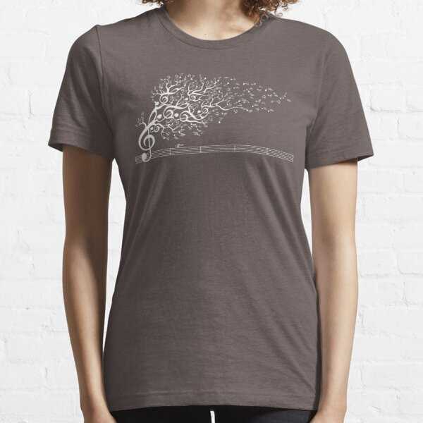 The Sound of Nature In Motion - White Essential T-Shirt