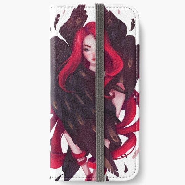 Black Wings iPhone Wallet