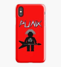 Punk Guitarist Minifig by Customize My Minifig iPhone Case