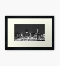 Country Club Plaza at Night Framed Print