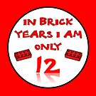 IN BRICK YEARS I AM ONLY 12 by Customize My Minifig