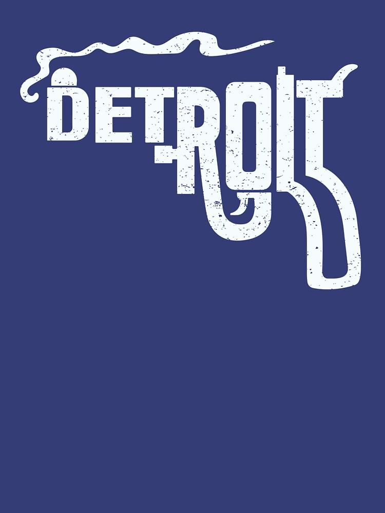 Macs Detroit Smoking Gun Shirt by thegrays
