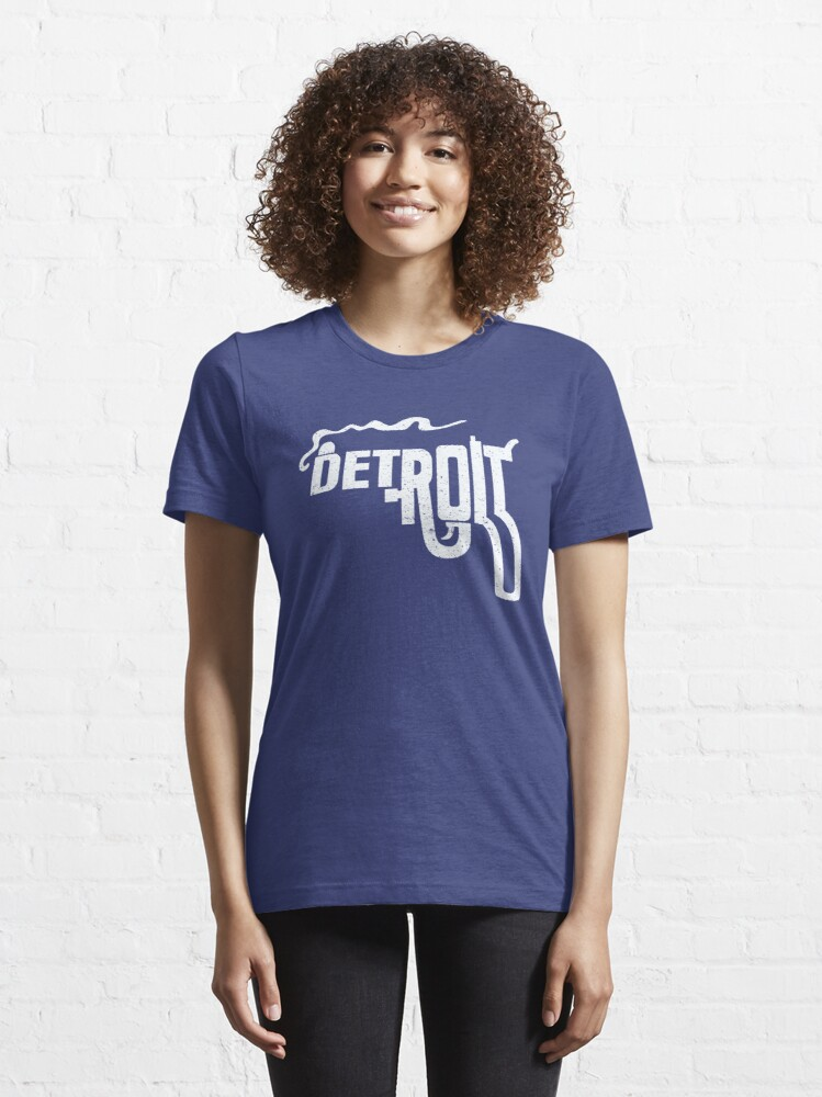 Alternate view of Macs Detroit Smoking Gun Shirt Essential T-Shirt