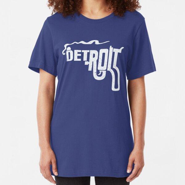 Macs Detroit Smoking Gun Shirt Slim Fit T-Shirt