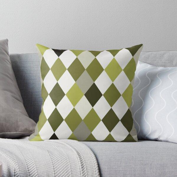 Cactus Garden Harlequin 1 Throw Pillow