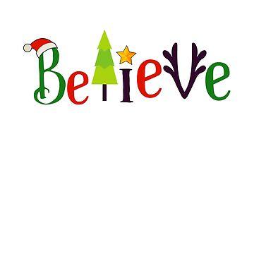 Believe In Miracles Christmas Gift by oceanwaves