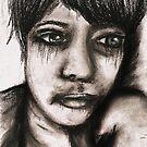 Charcoal portrait #2 by Rachel Kelly