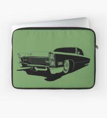1967 Cadillac Coupe Deville - stylized monochrome Laptop Sleeve