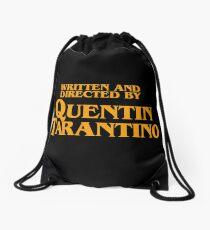 Written by Tarantino Drawstring Bag