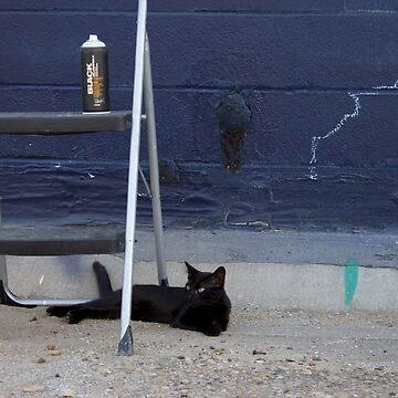 Gato Negro by SamuelMolina