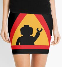 Minifig Triangle Road Traffic Sign Mini Skirt