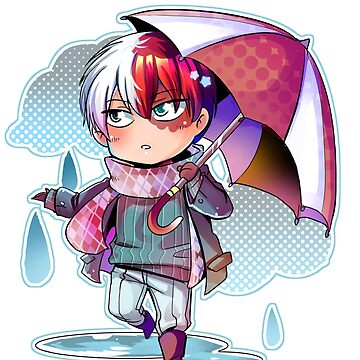 Rainy Todoroki by Kamapon