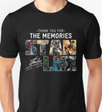 STAN LEE The Man The Myth The Legend The Memories Unisex T-Shirt