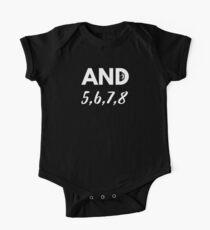 Body de manga corta para bebé Y 5,6,7,8