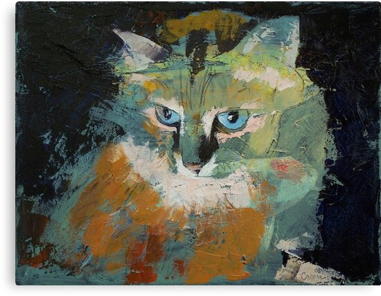 Himalayan Cat by Michael Creese