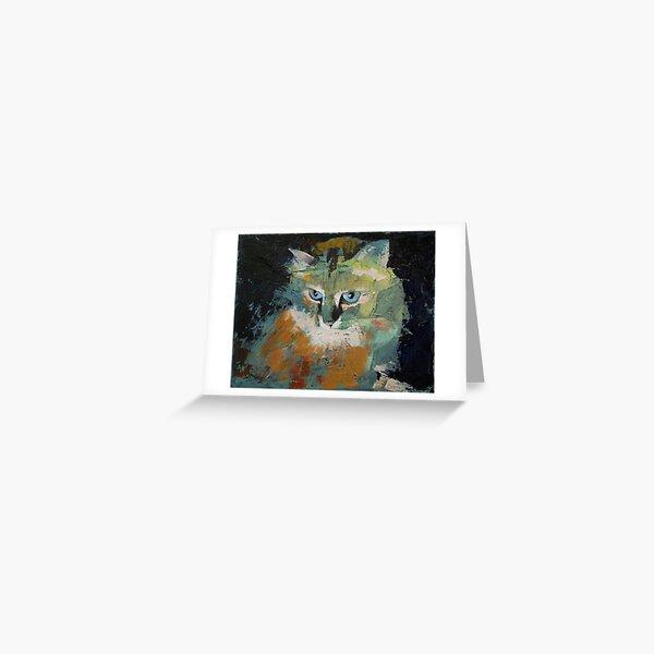 Himalayan Cat Greeting Card