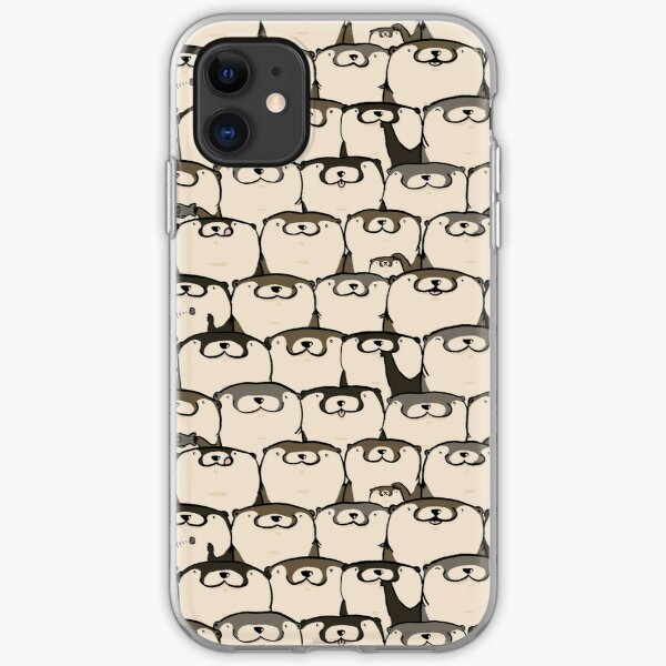 Fotters (Fat Otters) iPhone Soft Case