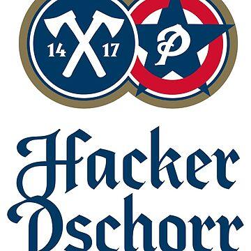 Hacker-Pschorr-Bräu Logo by masseygoose