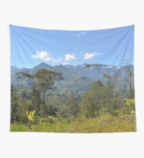 a large Tonga landscape Wall Tapestry