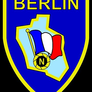 French Forces in Berlin - Forces Françaises à Berlin (Historical) by wordwidesymbols