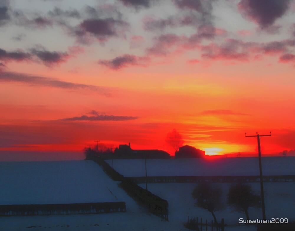 Sunset  On The Farm by Sunsetman2009