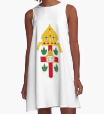 Coat of Arms of Anglican Church of Canada A-Line Dress