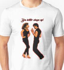 Sie machen schönere Formen. // Fett Slim Fit T-Shirt