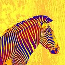 yellow zebra by jashumbert
