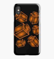 1 x 1 Bricks (AKA Falling Bricks) iPhone Case/Skin