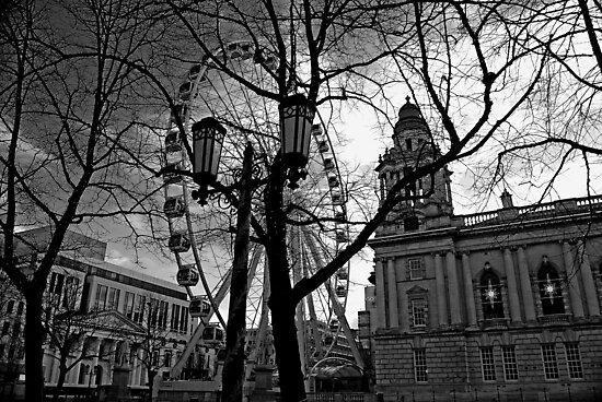 Belfast's Eye - Northern Ireland by Ferdinand Lucino