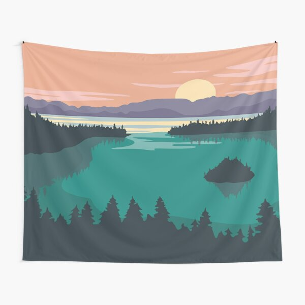 Emerald Bay Tapestry