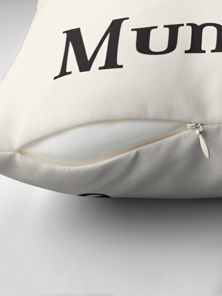 Alternate view of Reserved for Mummy Throw Pillow