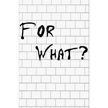 For What Wall? by Nortonrf