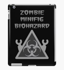 ZOMBIE MINIFIG BIOHAZARD iPad Case/Skin