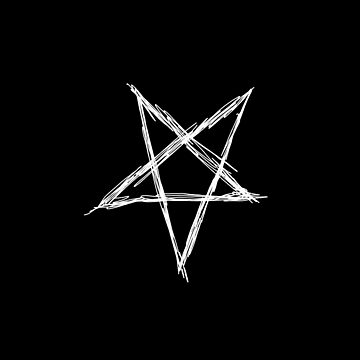 Pentagram (white) by MacSquiddles