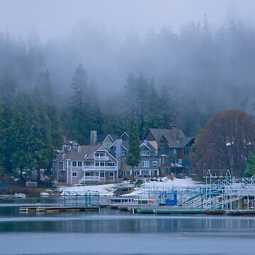 Winter In Lake Arrowhead by DianaG