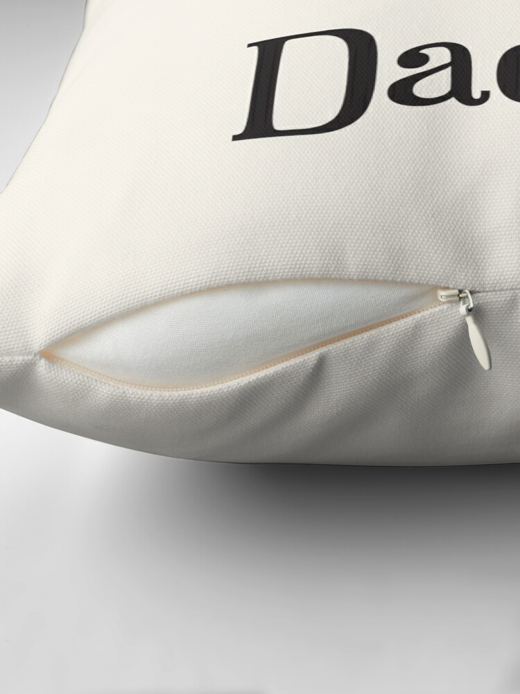 Alternate view of Reserved for Daddy Cushion/Throw Pillow Throw Pillow