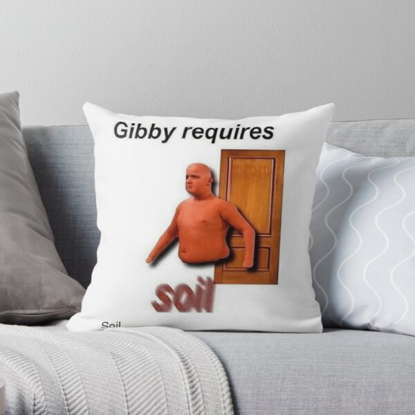 gibby requires soil Throw Pillow