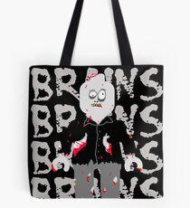 BRAINS BRAINS BRAINS BRAINS BRAINS Tote Bag