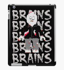 BRAINS BRAINS BRAINS BRAINS BRAINS iPad Case/Skin