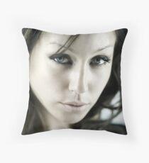 A Headshot Throw Pillow