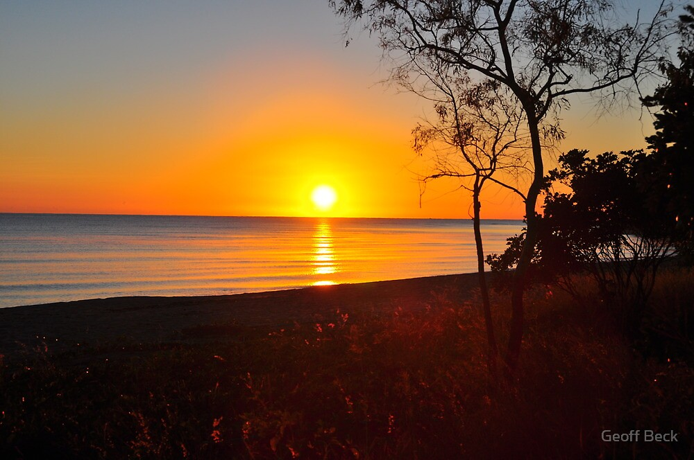 Sunrise over the Coral Sea by Geoff Beck